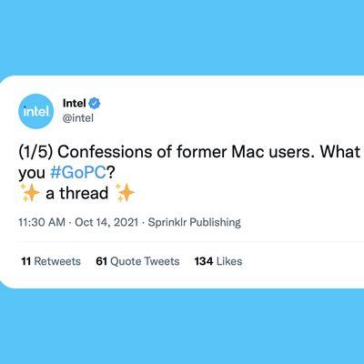 Intel GoPC Tweet Feature