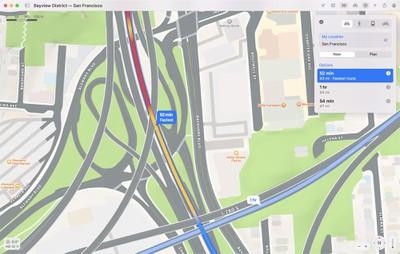 maps monterey road view