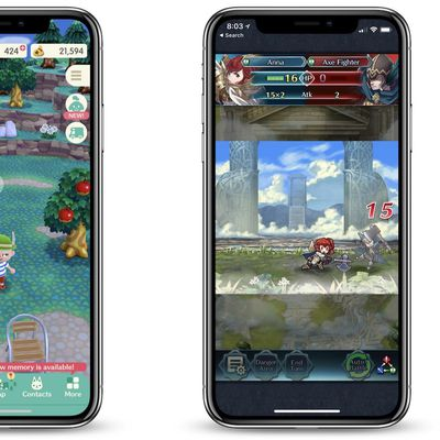 animal crossing and fire emblem ios
