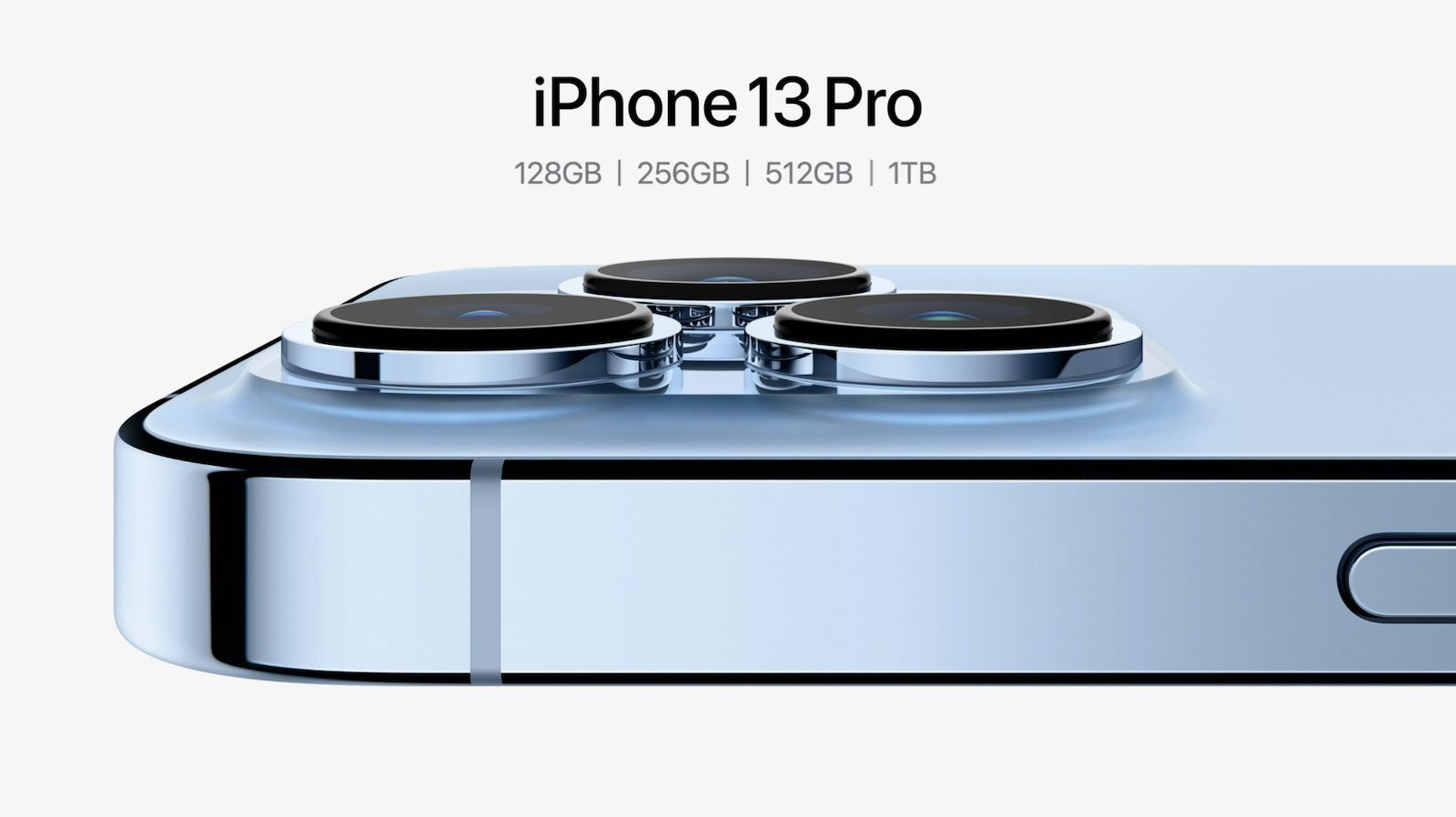 iPhone 13 Pro Available With Up to 1TB of Storage, Pricing Tops Out at  Record $1,599 - MacRumors