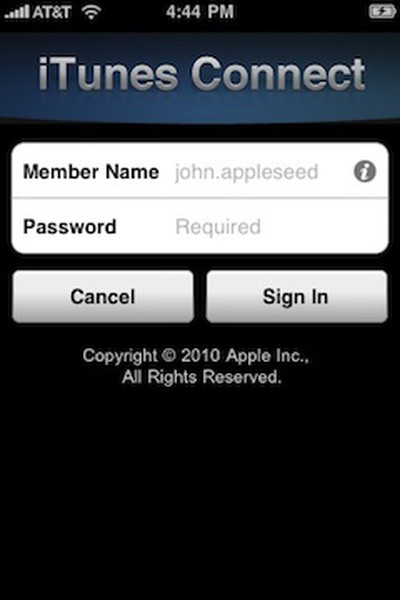 164830 itunes connect mobile sign in