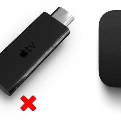 Apple TV Stick vs Box Feature