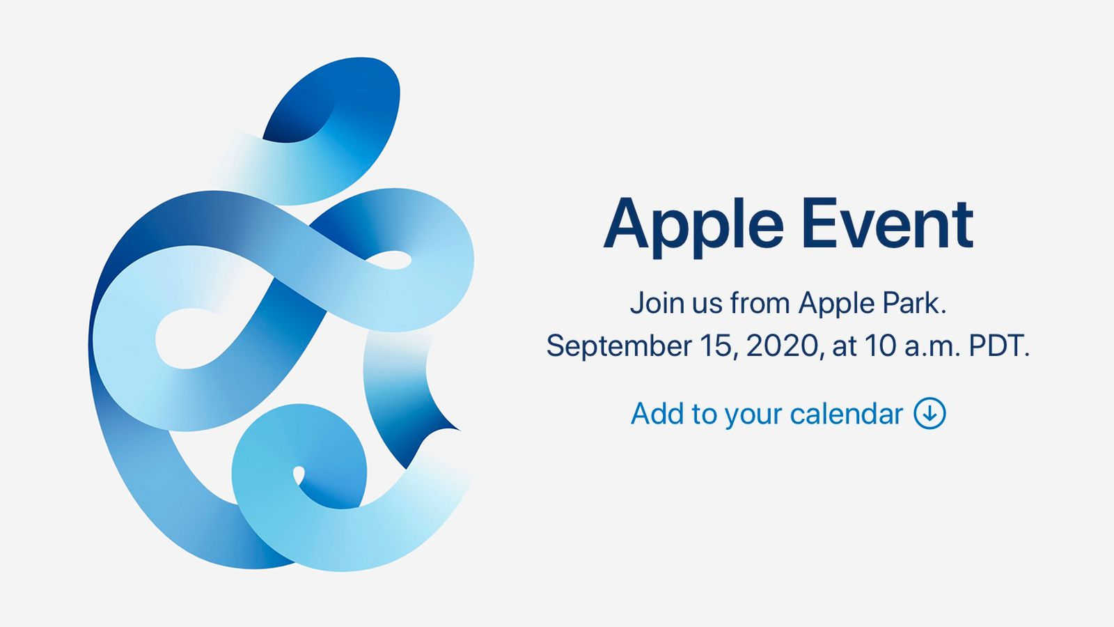Apple's September 2020 Event: Spoiler-Free Video Stream