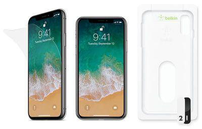 belkin screen protectors iphone x