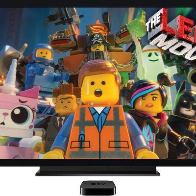 apple tv lego movie