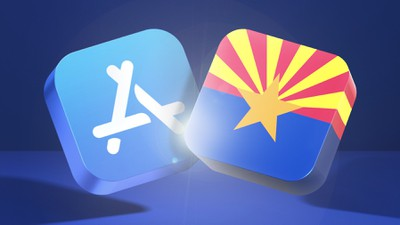 app store blue banner arizona fixed