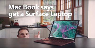 microsoft surface mac book ad 2019