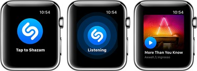 shazamapplewatch