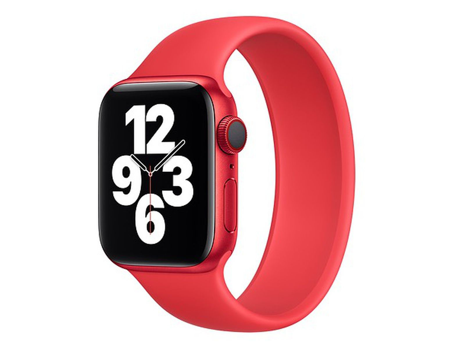 photo of Apple Watch PRODUCT(RED) Solo Loop and Braided Solo Loop Bands Now Available image
