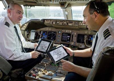 united pilots ipad