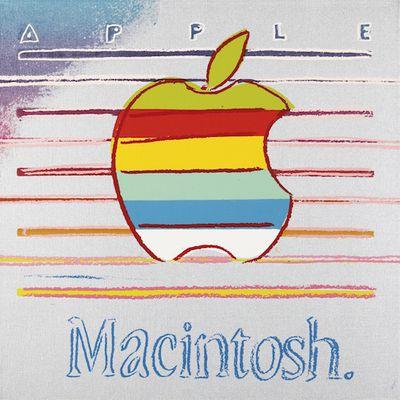 Macintosh Ad Warhol