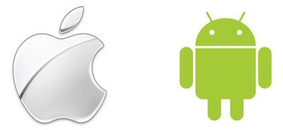 apple android logos 400