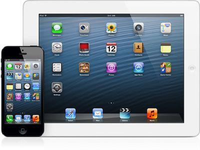 iphone 5 ipad