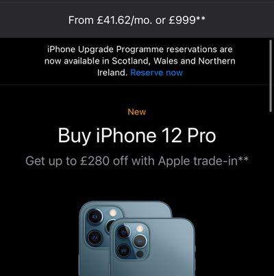 iphone upgrade program uk