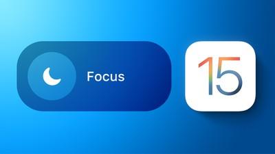 iOS 15 Focus Feature
