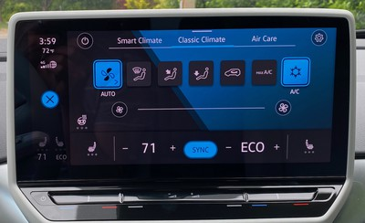 2021 vw id4 classic climate