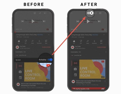 YouTube for Android revamps the video player page and adds new gestures
