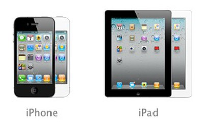 iphone 4 ipad 2