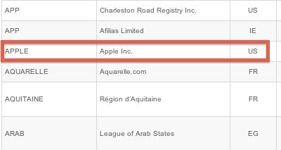 dot apple application