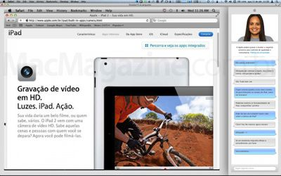 apple online store sales screen share