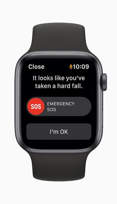 Apple watch se emergency sos