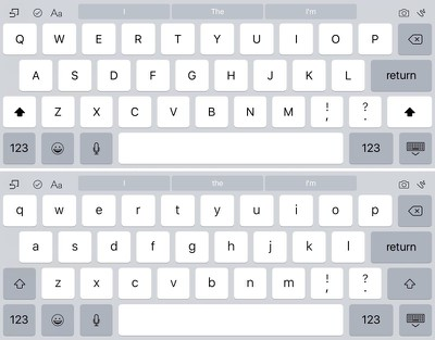 keyboardchangesios