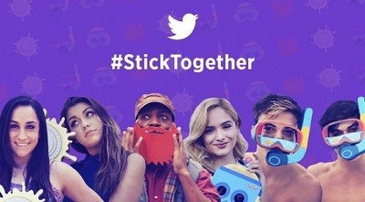 Twitter Stickers launch