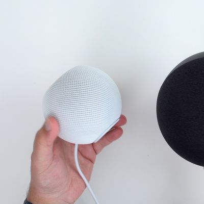 homepod mini amazon echo size