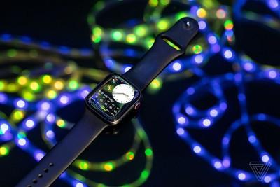 apple watch series 5 verge