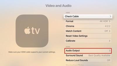 audiooutputappletv