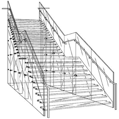 jobs glass staircase patent