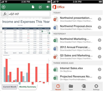 office_mobile_iphone_screenshots
