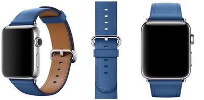apple watch classic buckle blue