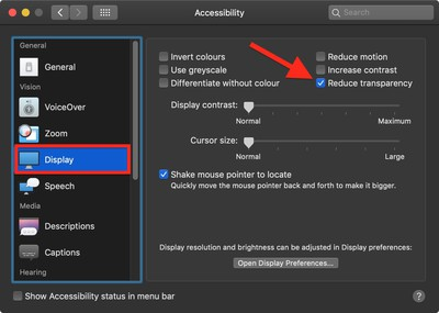how to disable transparency in macos 02