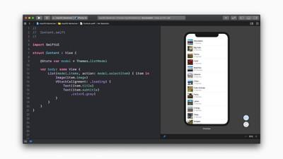 Apple dev tools swift UI screen 06032019