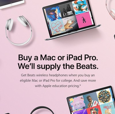 apple back to school banner 2017