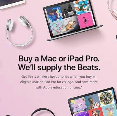 apple back to school banner 2017