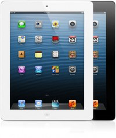 ipad 4 black white