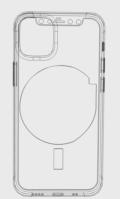 iphone 12 cad magnets