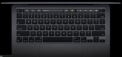 macbook pro m1 keyboard
