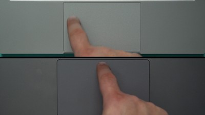 razer book vs macbook pro trackpad