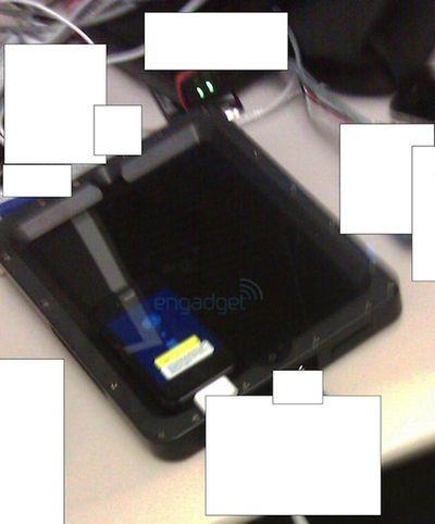 leaked ipad photo