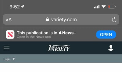 apple news Smart Banner Change ios14 appleinsider
