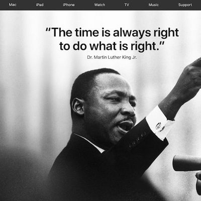 apple mlk day 2018