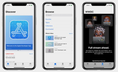 apple developer app wwdc 2020 1