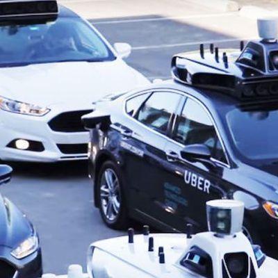 Uber Self Driving Car Fleet