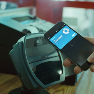 chase bleachers apple pay ad