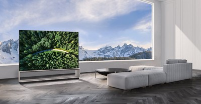 lg 88 inch 8k oled tv airplay homekit