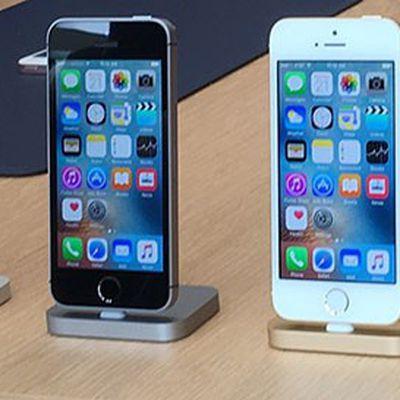 iPhone SE demo