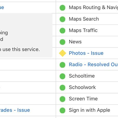 icloud services issue